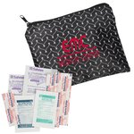 Fashion First Aid Kit - Vine Chevron - 24 hr