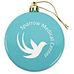 Flat Shatterproof Ornament - Opaque