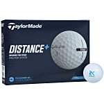 Taylormade Distance+ Golf Ball - Dozen - Quick Ship