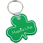 Shamrock Soft Key Tag - Translucent
