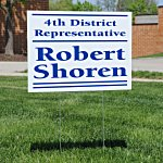 Corrugated Plastic Yard Sign - 18