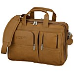 Vaqueta Napa Leather Laptop Brief