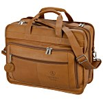 Vaqueta Napa Leather Oversized Laptop Brief