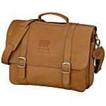 Vaqueta Napa Leather Deluxe Laptop Messenger