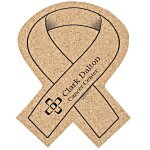Cork Coaster - Awareness Ribbon