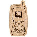 Large Cork Coaster - Cell Phone