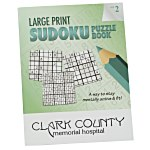 Large Print Sudoku Puzzle Book - Volume 2