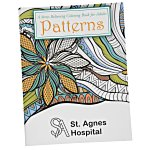 Stress Relieving Adult Coloring Book - Patterns