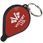 Pin Drop Stylus Screen Cleaner Key Tag