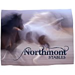 Full Color Microfleece Blanket - 60