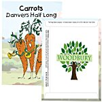 Cartoon Seed Packet - Carrot