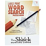 Large Print Word Search Puzzle Book & Pencil- Volume 1