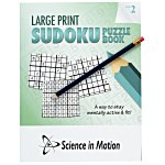 Large Print Sudoku Puzzle Book & Pencil - Volume 2