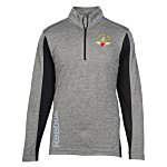 Reebok Crossover 1/4 Zip Lightweight Heather Pullover