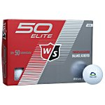 Wilson Staff 50 Golf Ball - Dozen