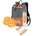 Premium Chic Backpack Picnic Set for 2