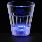 Fluted Light Up Shot Glass - 2 oz. - 24 hr