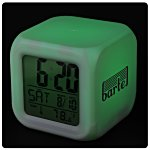 Color Changing LED Alarm Clock - 24 hr