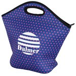 Hideaway Large Lunch Cooler Tote-Polka Dot-Closeout
