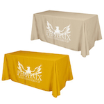 Flat 4-sided Table Cover - 6'