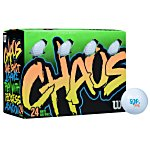 Wilson Chaos Golf Ball - Double Dozen