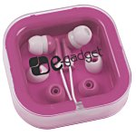 Ear Buds with Interchangeable Covers - Colors - 24 hr