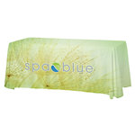 Open-Back Satin Table Throw - 6'