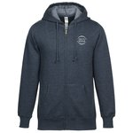 Econscious Heathered Fleece Full-Zip Hoodie - Men
