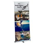 Ideal Retractable Banner Display - 33-1/2