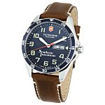 Victorinox Fieldforce Leather Watch