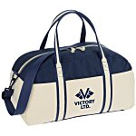 Nantucket Cotton Weekender Bag