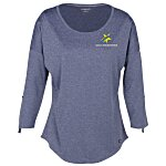 OGIO Performance Stretch 3/4 Sleeve Shirt - Ladies