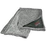 Heathered Fuzzy Fleece Blanket