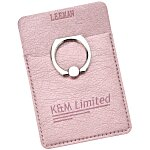 Leeman Shimmer Phone Wallet with Ring Stand