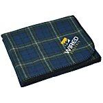 Aberdeen Fleece Blanket - Embroidered