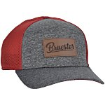 New Era Silhouette Stretch Fit Meshback Cap - Laser Engraved Patch
