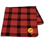 Buffalo Plaid Fleece Blanket - 24 hr