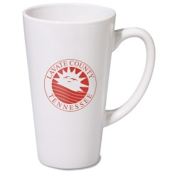 View a larger, more detailed picture of the Firehouse Mug - White - 16 oz