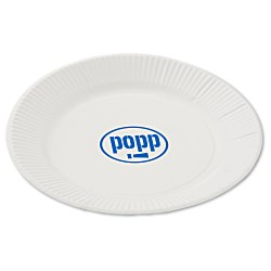 View a larger, more detailed picture of the Plastic-Coated Paper Plates - 7 - Low Qty