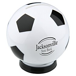 View a larger, more detailed picture of the Sports Bank - Soccer Ball