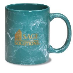 View a larger, more detailed picture of the Marble Mug - Colors - 11 oz