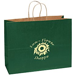 View a larger, more detailed picture of the Matte Shopping Bag 12 x 16