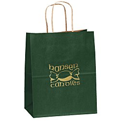 View a larger, more detailed picture of the Matte Shopping Bag 9-3 4 x 7-3 4