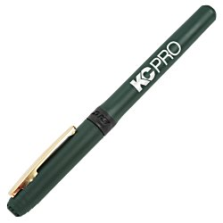 View a larger, more detailed picture of the Bic Grip Rollerball Pen - Gold