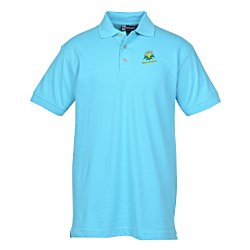 View a larger, more detailed picture of the Blue Generation Superblend Pique Polo - Men s