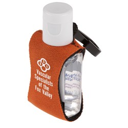 View a larger, more detailed picture of the Sanitizer on a Clip