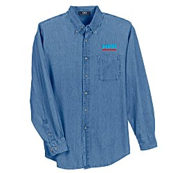 View a larger, more detailed picture of the Woodbridge Denim Shirt