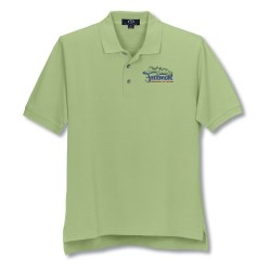 View a larger, more detailed picture of the Enterprise Pique Polo - Men s - Closeout