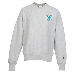 View a larger, more detailed picture of the Champion Reverse 12 oz Weave Crew Sweatshirt - Embroidered