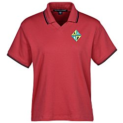 View a larger, more detailed picture of the Devon & Jones Perfect Pima Polo - Ladies